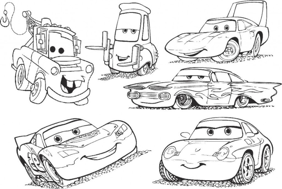 little cars coloring pages - photo#23